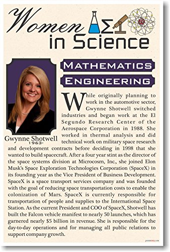 Gwynne-Shotwell-President-of-Space-X-Women-in-Science-NEW-Classroom-Poster