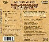 Josquin des Prez: Masses - Di dadi, Une mousse de Biscaye