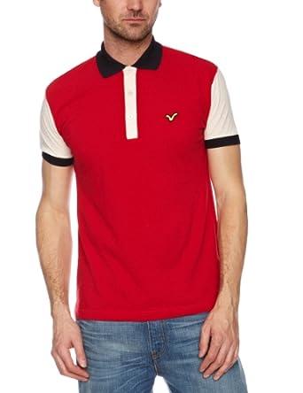 Voi Alliance Polo Men's T-Shirt Tango Red/Ecru XX-Large
