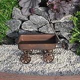 Miniature Fairy Garden Primitive Rustic Tin Wagon