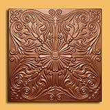 "Astana Copper (20""x20"" Foam) Ceiling Tile"
