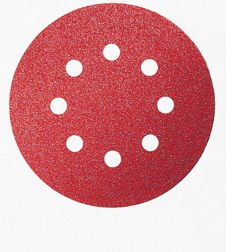Bosch 2607019492 25 Fogli Abrasivi Roto-orbitale, Grana 60, 125 mm