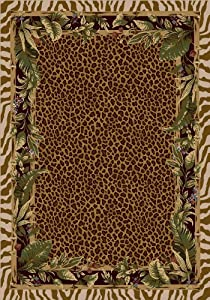 "Jungle Safari Rug - Pearl Mist (5'4""x7'8"" Rectangle)"