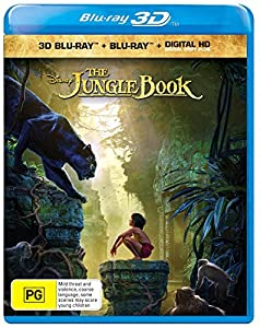 The Jungle Book [Live-Action] [3D Blu-Ray] by Import