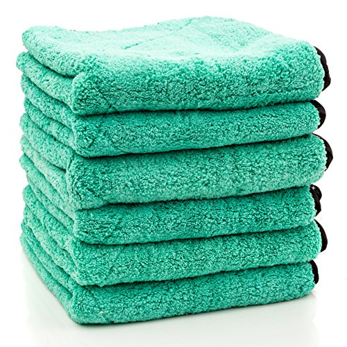 Dry Rite Heavy Weight Premium Plush Microfiber Cloth- Ultra Thick- 700 GSM- 14