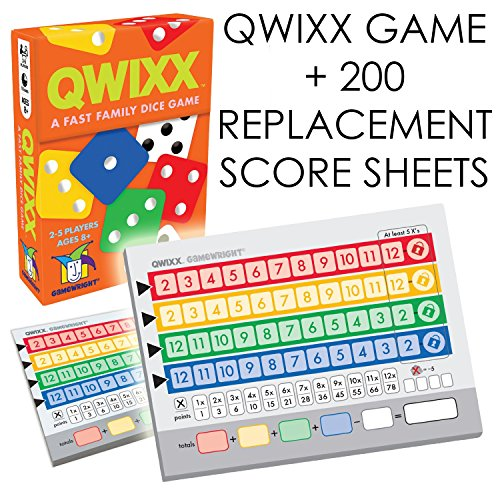 Qwixx-Expansion-Bundle-A-Fast-Family-Dice-Game-Includes-200-Quixx-Replacement-Score-Cards-Sheets