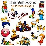 The Simpsons ステッカー16枚セット シンプソンズ 防水 シール