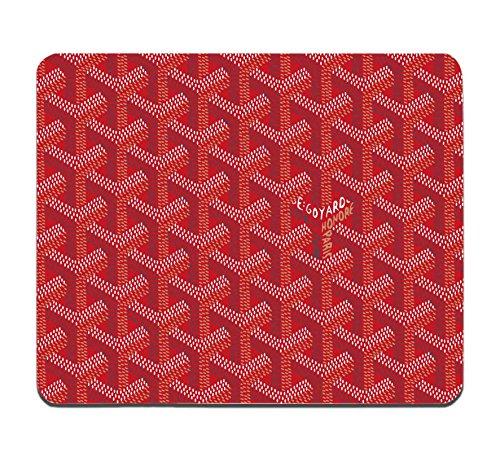 goyard-red-mousepad