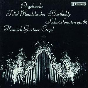 Mendelssohn Sonates Op 65