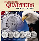 img - for State Series Quarters Collector Map: Also Including the District of Columbia and Territorial Quarters book / textbook / text book
