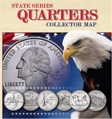 State Series Quarters Collector Map