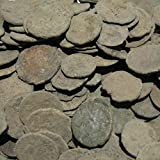 Uncleaned Roman Coins Starter Kit by Vx Investments. 10 Uncleaned Ancient Coins, a Cleaning Brush, and Printed Instructions. Restore Real Old Coins