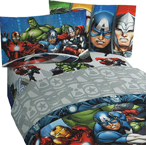 Marvel Avengers Twin Sheet Set Bedding