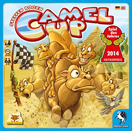 Pegasus Spiele Board Game Camel Up