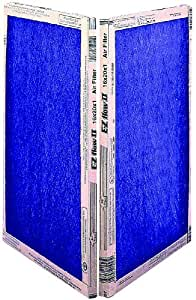 Flanders Air Filters 783648  Value Pleat Extended Surface Pleated Air Filter, Merv 8, 12-Inch by 24-Inch by 1-Inch, 12-Pack