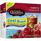 Celestial Seasonings Raspberry Cool Brew Iced Black Tea Bags - 40 ct