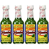 El Yucateco Green Habanero Hot Sauce 4 oz. (4-Pack)