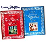 Enid Blyton's Magic Faraway Tree & Enchanted Wood Collection 2 Full Colour Illustrated Gift Books Collection Pack (The Magic Faraway Tree, The Enchanted Wood)by Enid Blyton