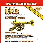 Tchaokovsky: 1812 Overture (2LP Vinyl)