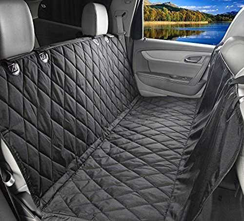 Waterproof Pet Car Seat Cover For Dogs - Universal Fit for Most Cars Trucks and SUV'S - Durable Seat Anchors and Nonslip Backing - Easily Clean Up Any Mess and Protect Your Seats (Dog Truck Seat Protector compare prices)
