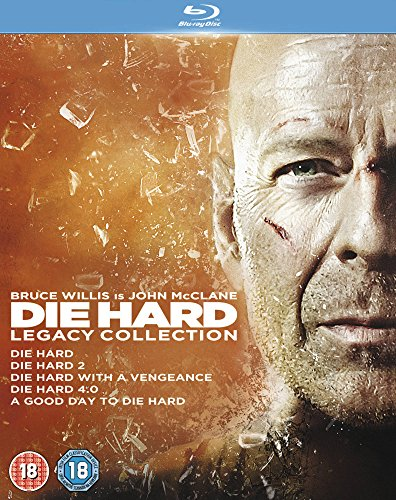 Die Hard 1-5 Legacy Collection [Blu-ray] [Import]