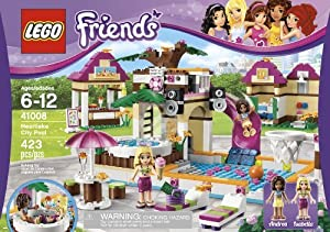 Amazon Com Lego 174 Friends Girls Heartlake City Swimming
