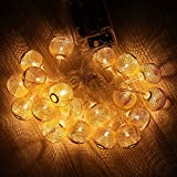 Lantern String Lights,Y&M(TM)20 LED Chinese Lantern String Lights Decoration Light For Christmas, Weddings, Parties...