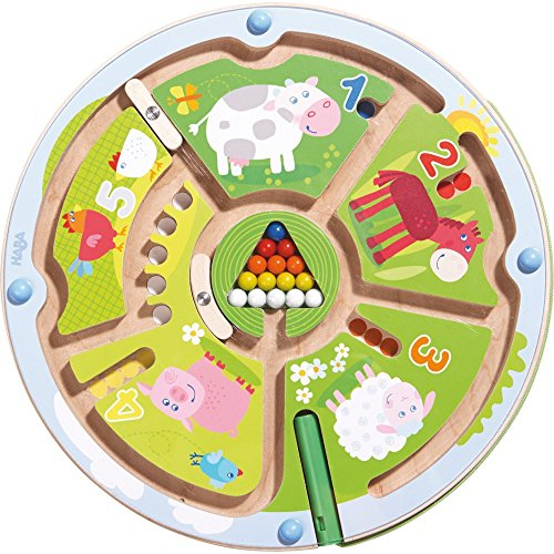 Haba 301056 Number Maze Magnetic Game