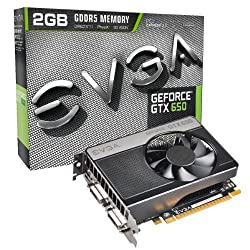 EVGA GeForce GTX 650 2048MB GDDR5 DVI mHDMI Graphics Card 02G-P4-2651-KR