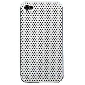 IACCY Perfo Snap Case for iPhone 4/4S (Silver) IP4S009