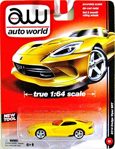 AUTO WORLD 1993 PONTIAC FIREBIRD T/A TRUE 1:64 SCALE YELLOW - 1