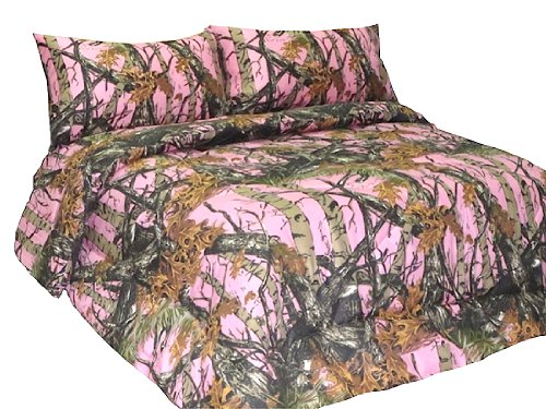 Pink Realtree Bedding 2633 front