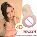 4D Male Simulation Toy Relax Stress for Men (Color: Pink, Tamaño: AS SHOW)