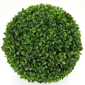 Boule de buis artificiel grand mod le plante for Boule de buis artificiel pour exterieur