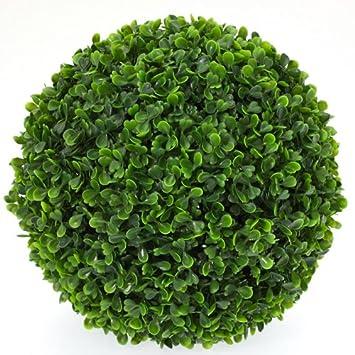 Boule de buis artificiel artificiel grand mod le for Acheter plante exterieur