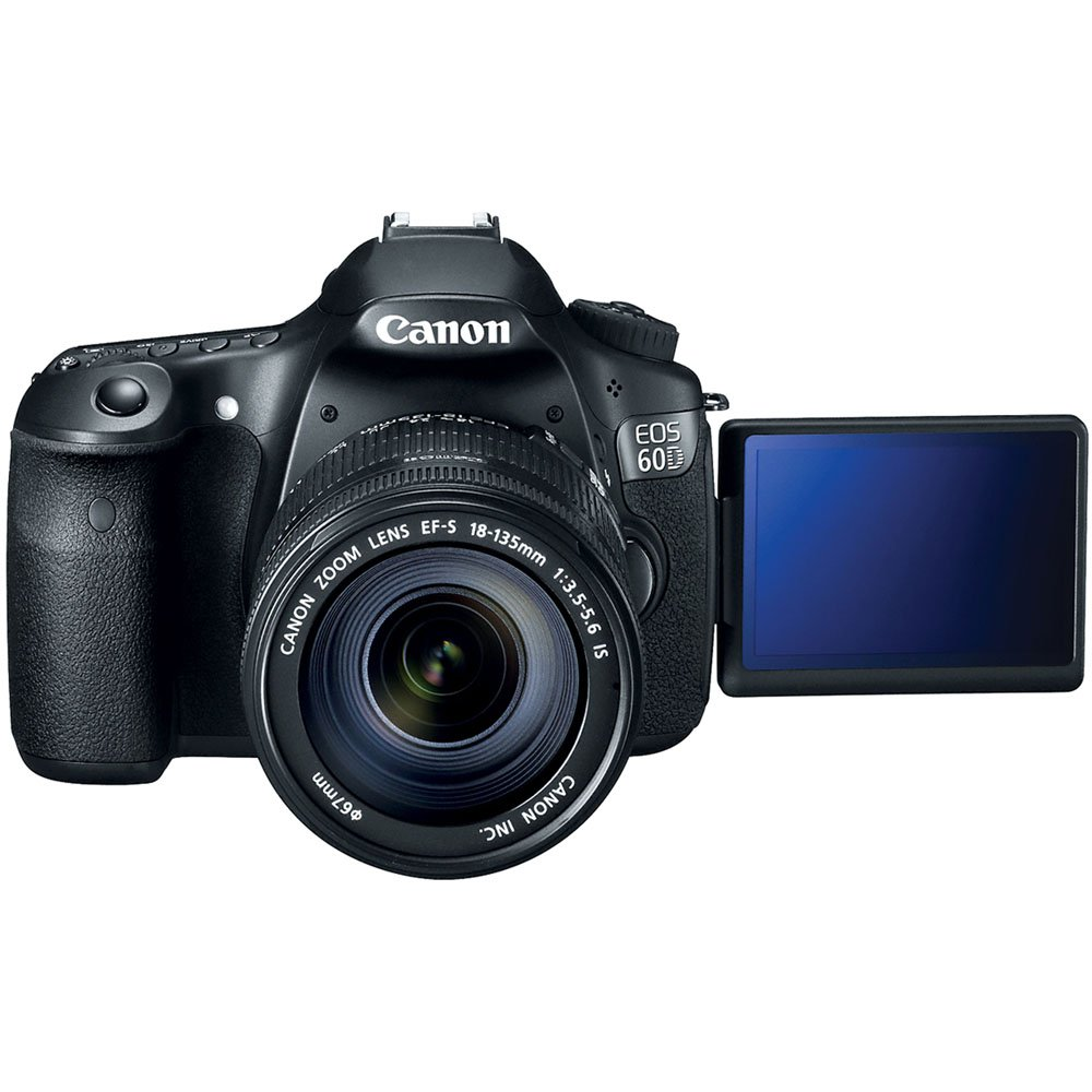 Cannon 60D (Lens 18-135+Pouch and Card)