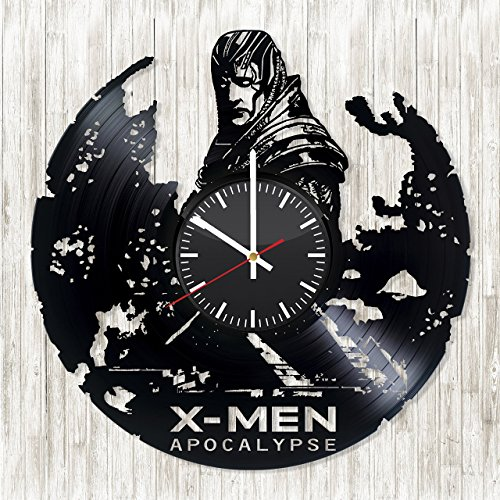 X-MEN-APOCALYPSE-Vinyl-Record-Wall-Clock-Get-unique-room-wall-decor-Gift-ideas-for-parents-Unique-movie-art-design-Leave-a-feedback-for-us-and-get-a-chance-to-win-a-custom-clock