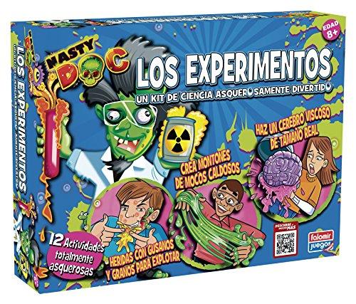 Falomir - Kit 12 experimentos asquerosos, juego educativo (25029)