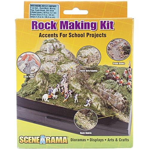Woodland Scenics Diorama Kit, Rock Making