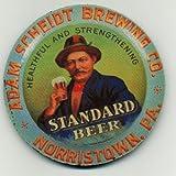 Standard  Beer -  Coaster Set -  Adam Scheidt Brewing - Norristown PA