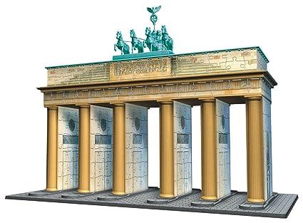 Brandenburg Gate Dimensions Brandenburg Gate 3d Puzzle