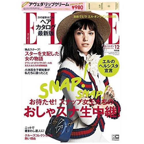ELLE JAPON (エル・ジャポン) 2016年 12月号 × 特別セット