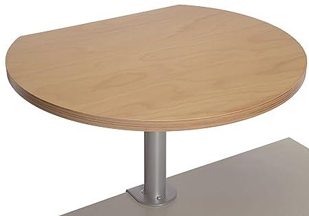 Atril de escritorio con base, placa de haya, frontal color haya--pulte stehpulte Orador pulte conducción Bare stehpulte rollpulte