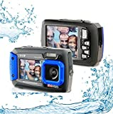 Silicon-Valley-Imaging-Corp-8800-BU-Waterproof-20MP-Waterproof-ACQUA-8800-Shockproof-UnderWater-Digital-Camera-Video-Recorder-Blue