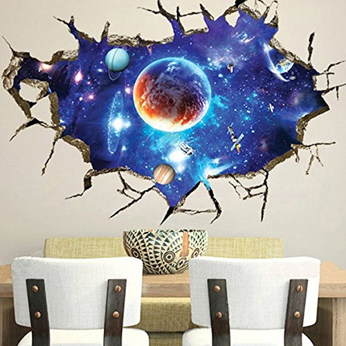 aliciashouse-espace-3d-exterieur-mur-stickers-home-deco-murale-stickers-muraux-de-art-galaxy-amovibl