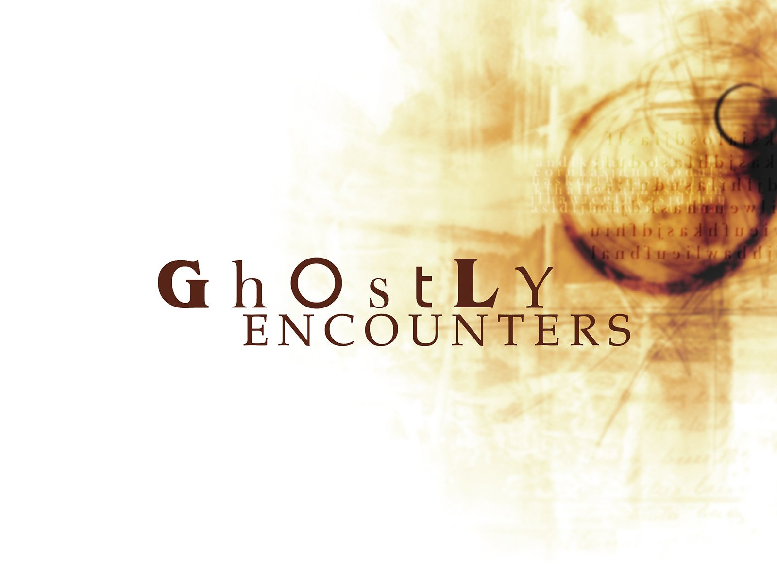 Ghostly Encounters on Amazon Prime Instant Video UK