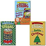 Jeremy Strong Jeremy Strong 3 Books Collection Set, Beware! Killer Tomatoes, The Battle for Christmas and My Brother's F