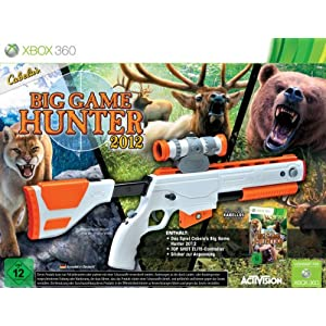 614ywma58XL. AA300  [Amazon] Cabelas Big Game Hunter 2012 + Gun Controller für die Xbox 360 für nur 39,99€ (Vergleich: 65€)