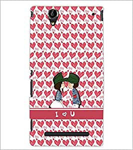 PrintDhaba Pattern D-2202 Back Case Cover for SONY XPERIA T2 ULTRA (Multi-Coloured)