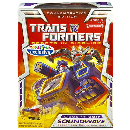 Transformer Generation 1 Re-issue Exclusive Soundwave Decepticon .